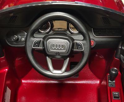 Accu Auto AUDI Q7 Wit 12V Deuren, Rubber Banden-4