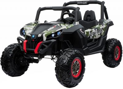 Accu Auto Cross Country DELUX 4X4 MP4-TV Camo 2 Persoons Rubber Banden