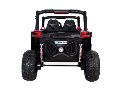 Accu Auto Cross Country DELUX 4X4 MP4-TV Roze 2 Persoons Rubber Banden-2