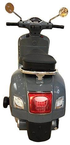 Accu Vespa GTS Scooter 12V Grijs -2