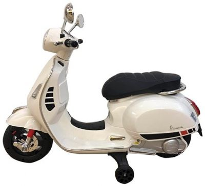 Accu Vespa GTS Scooter 12V Wit -2