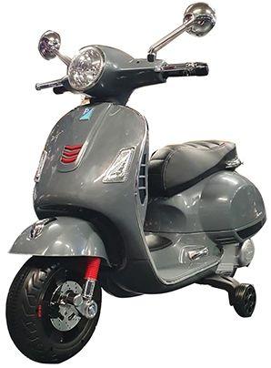 Elektrische Kindervespa Scooter GTS 12V Grijs