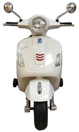 Accu Vespa GTS Scooter 12V Wit