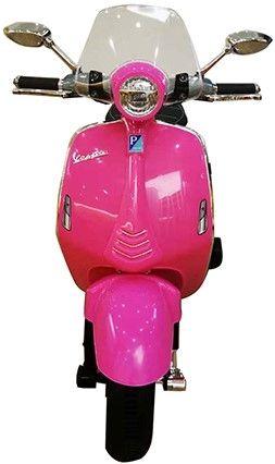 Accu Vespa Scooter Primavera 12V Roze