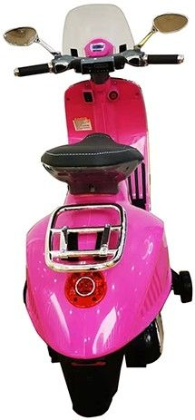 Accu Vespa Scooter Primavera 12V Roze-2