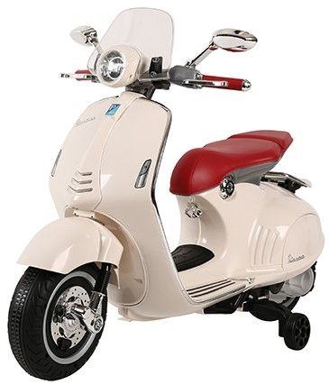 Accu Vespa Scooter Primavera 12V Wit
