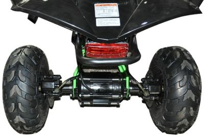 Midi Quad CYCLONE Rood 1200W BRUSHLESS 48V -5