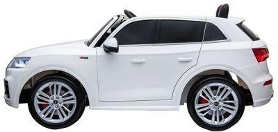 Accu Auto Audi Q5 Wit MP4 TV-Scherm 4X4 2 Persoons Rubber Banden-1