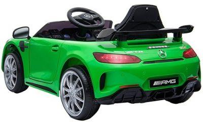 Accu Auto Mercedes AMG GTR 12V 2,4G Groen 1Pers -2