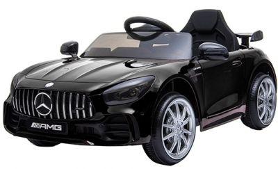 Accu Auto Mercedes AMG GTR 12V 2,4G Zwart Metallic 1Pers