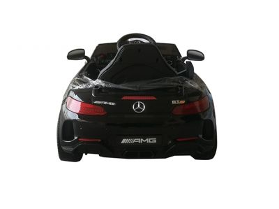 Accu Auto Mercedes AMG GTR 12V 2,4G Zwart Metallic 1Pers-1