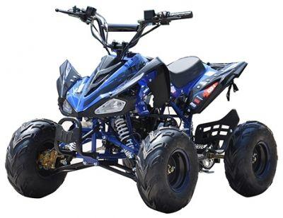 Midi Race Quad 60V 1000W Brushless Blauw