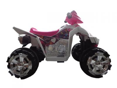 Accu Quad Cobra Roze 12V -3