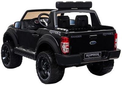 Accu Auto Ford Raptor 12V 2,4G Zwart Metallic Rubber Banden-2