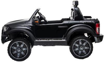 Accu Auto Ford Raptor 12V 2,4G Zwart Metallic Rubber Banden-1