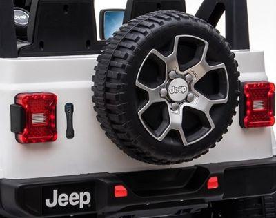 Accu Jeep Wrangler Rubicon Wit MP4 Scherm 12V 4X4 2.4G-5