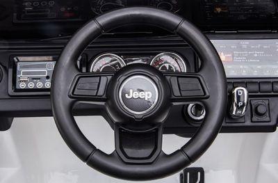 Accu Jeep Wrangler Rubicon Zwart Metallic MP4 Scherm 12V 4X4 2.4G-3