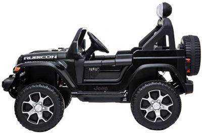 Accu Jeep Wrangler Rubicon Zwart Metallic MP4 Scherm 12V 4X4 2.4G-1