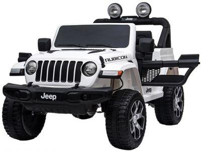 Accu Jeep Wrangler Rubicon Wit MP4 Scherm 12V 4X4 2.4G-3