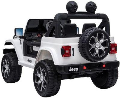 Accu Jeep Wrangler Rubicon Wit MP4 Scherm 12V 4X4 2.4G-2