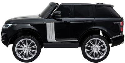 Accu Auto Range Rover 2 Pers. 4x4 Zwart Metallic MP4 Scherm 12V 2.4G  -1