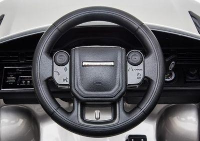 Accu Auto Range Rover Evoque Zilver Grijs Metallic MP4 Scherm 12V 2.4G Rubber Banden-3