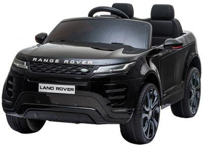 Kinder Accu Auto Range Rover Evoque Zwart Metallic MP4