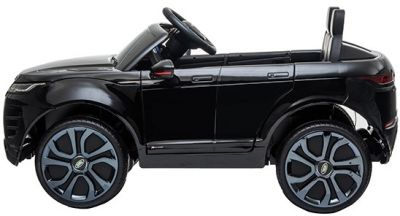 Accu Auto Range Rover Evoque Zwart Metallic MP4 Scherm 12V 2.4G Rubber Banden-1