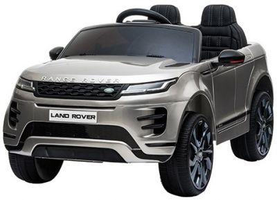 Elektrische Kinderauto Range Rover Evoque Zilver Grijs Metallic MP4