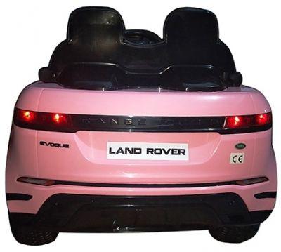 Accu Auto Range Rover Evoque Roze MP4 Scherm 12V 2.4G Rubber Banden-1