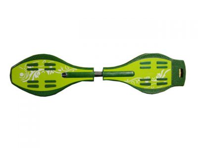 Waveboard Duo Color Groen