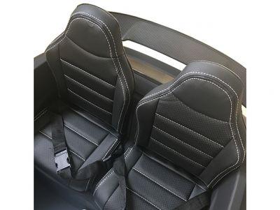 Accu Auto Mercedes AMG GTR 4X4 12V Mat Zwart 2 persoons -3