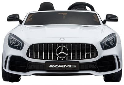 Accu Auto Mercedes AMG GTR 4X4 12V Wit 2 persoons