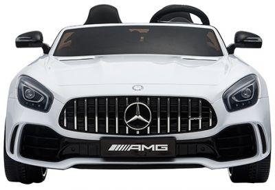 Elektrische Kinderauto Mercedes AMG GTR 4X4 Wit 2 persoons