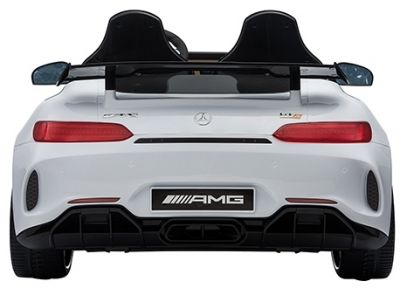 Accu Auto Mercedes AMG GTR 4X4 12V Wit 2 persoons-1