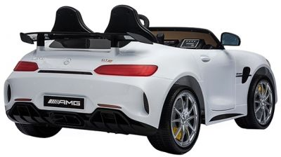 Accu Auto Mercedes AMG GTR 4X4 12V Wit 2 persoons-2