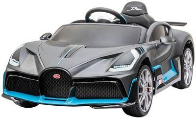 Accu Auto Bugatti Divo 12V Mat Grijs 2,4G Lederen Stoel Rubber banden