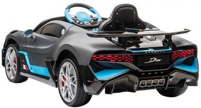 Accu Auto Bugatti Divo 12V Mat Grijs 2,4G Lederen Stoel Rubber banden-2