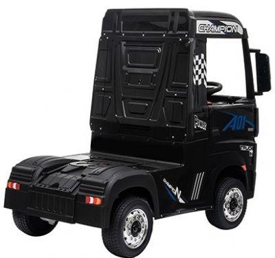 Accu Auto Mercedes Actros Truck 4X4 12V Zwart Metallic Rubber Banden-2