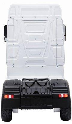 Accu Auto Mercedes Actros Truck 4X4 12V Wit Rubber Banden-2