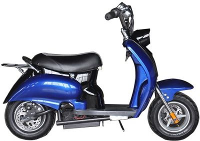 Mini Scooter Classic Blauw-Zwart 350W 36V 3 Speed-2