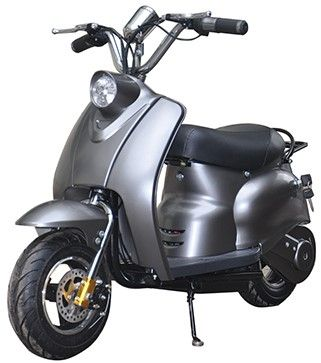 Mini Scooter Classic Mat Grijs 350W 36V 3 Speed