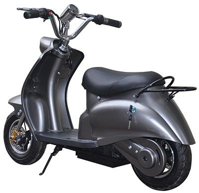 Mini Scooter Classic Mat Grijs 350W 36V 3 Speed -2