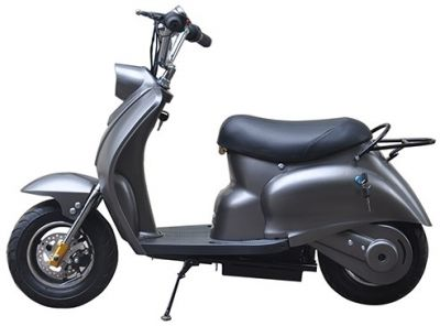 Mini Scooter Classic Mat Grijs 350W 36V 3 Speed -1