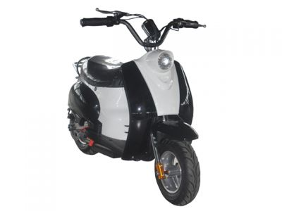 Mini Scooter Classic Zwart 350W 36V 3 Speed