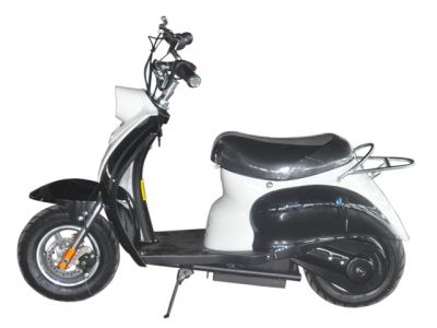 Mini Scooter Classic Zwart 350W 36V 3 Speed-1