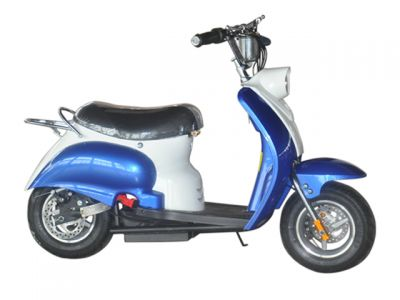 Mini Scooter Classic Blauw 350W 36V 3 Speed
