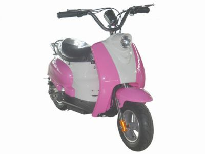 Mini Scooter Classic Roze 350W 36V 3 Speed