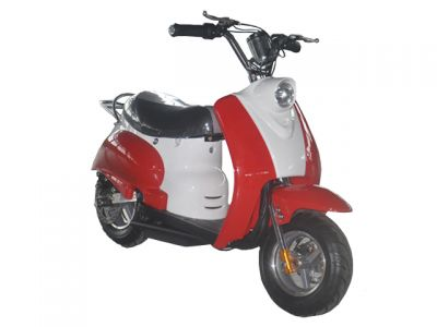 Mini Scooter Classic Rood 350W 36V 3 Speed