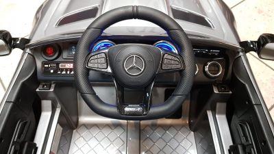 Accu Auto Mercedes AMG GTR 12V 2,4G Zwart Metallic 1Pers-4
